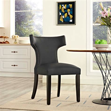 Leatherette Side Chair