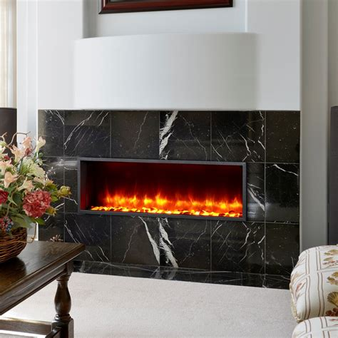 LED Electric Wall Mounted Fireplace Insert