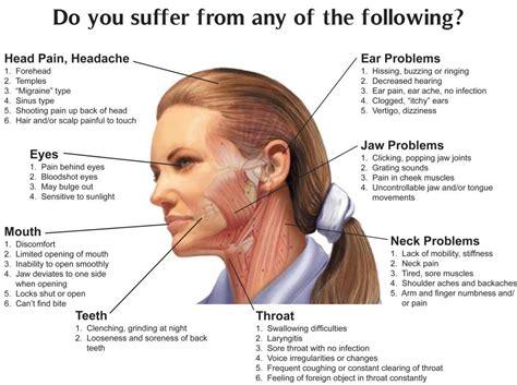 left side neck pain right side headache