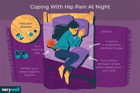 leg and hip cramping while sleeping