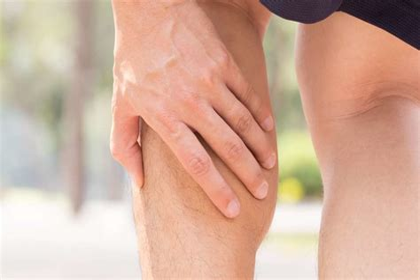 leg muscle injury symptoms
