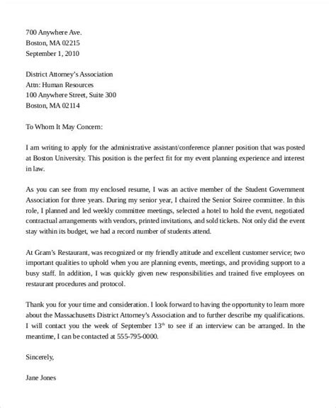 legal administrative assistant resume cover letter administrative assistant cover letter examples