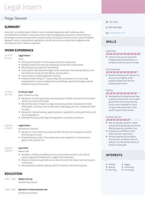 resume for construction worker