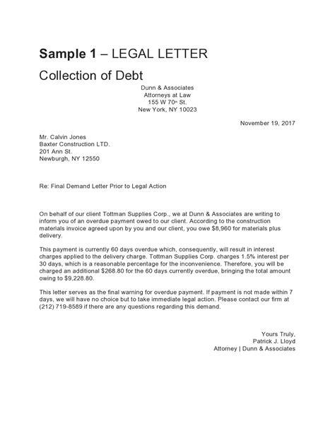 Legal Letter Format Example from tse1.mm.bing.net