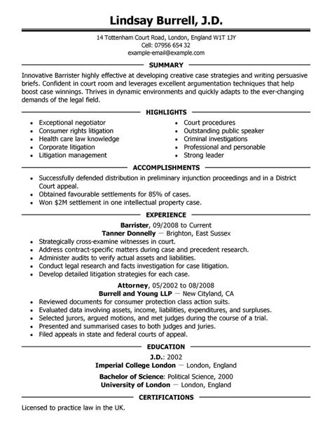 Corporate Commercial Lawyer Resume Legal Resume Samples And Tips For An Effective Resume