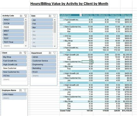 Legal Timesheet Template Professional Services Billing Timesheet Template
