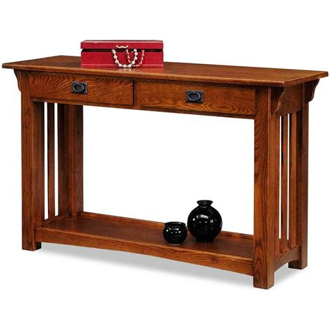 Leick   Narrow Console Table.