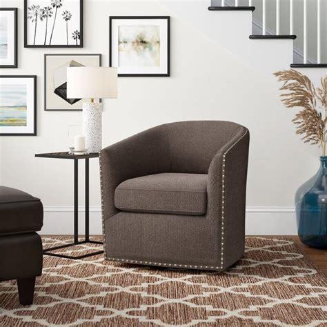 Leominster Swivel Barrel Chair