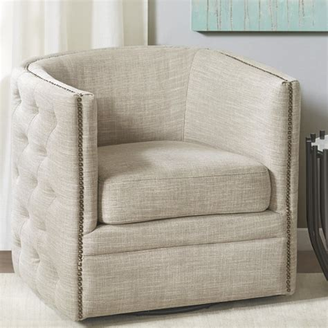 Leontine Swivel Armchair