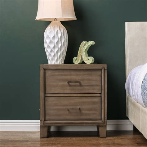 Leporis 2 Drawer Nightstand