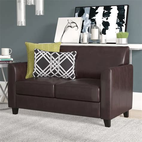 Letcher Diplomat Series Leather Loveseat