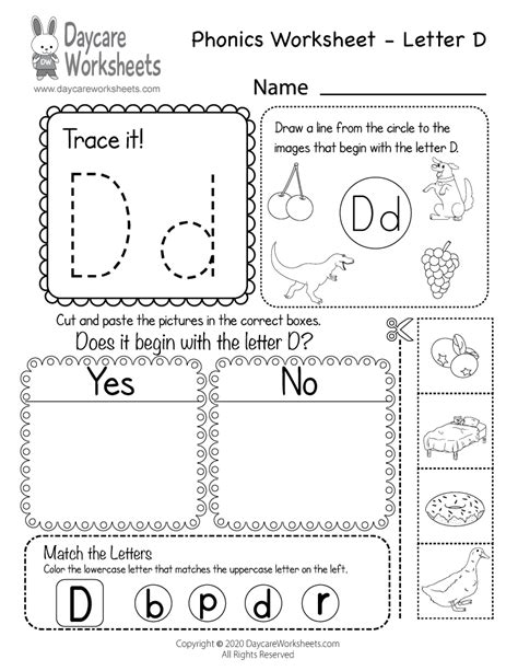 Preschool letter d worksheets sample resume of banking marketing preschool letter d worksheets letter d worksheets alphabet d sound handwriting thecheapjerseys Image collections