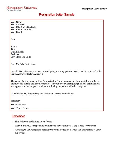 Letter Of Resignation Due To Health Reasons Sample Resignation Letter For Health Reasons
