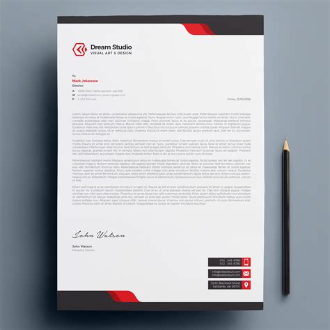 Letterhead Templates Vector Free Templates Free Business Card Templates Free