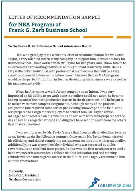 Letters Of Recommendation Yale University Great Mba Recommendation Letters Tips And An Example