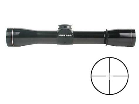 Rifle-Scopes Leupold M8 4x Compact Rifle Scope.