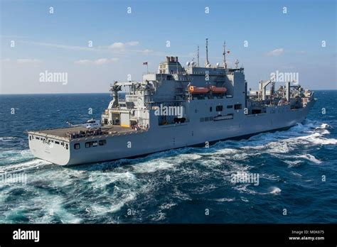Ammunition Lewis And Clark-Class Dry Cargo And Ammunition Ship.