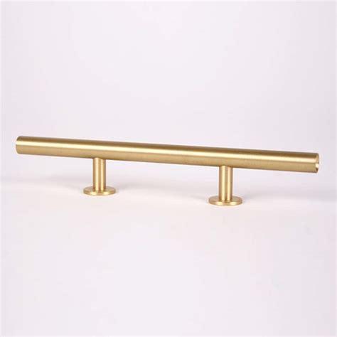 Brass Lews Brushed Brass Hardware.