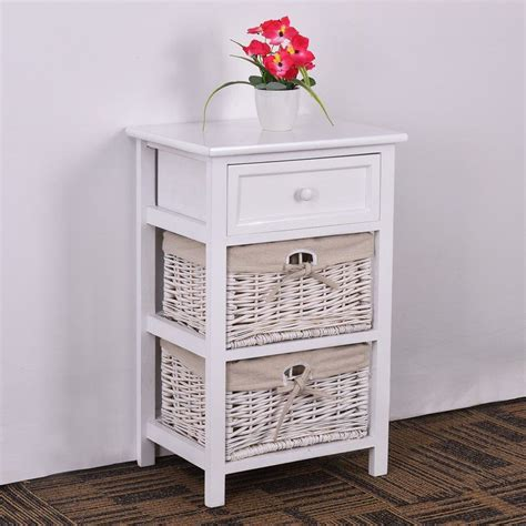 Licata 3 Tier 1 Drawer Nightstand