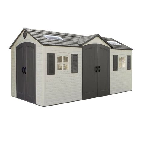 Lifetime 15 Ft X 8 Ft Outdoor Storage Shed