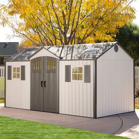 Lifetime Garden Shed 15 X 8
