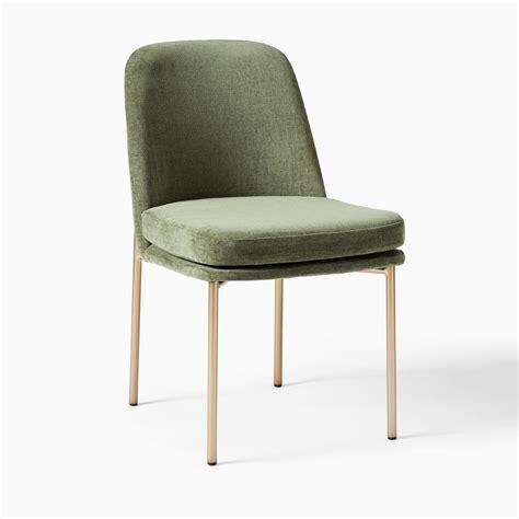 Lise Metal Frame Upholstered Dining Chair (Set of 2)