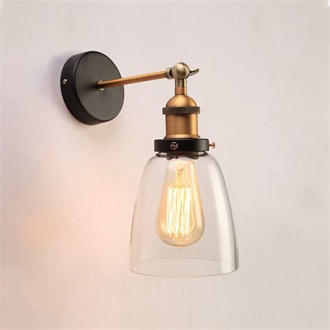 Liston 1-Light Glass Wall Lamp