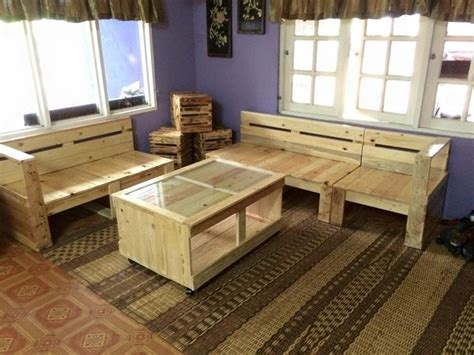 Living Room Furniture Made Out Of Pallets Diy Pallet O Ideas 1001
