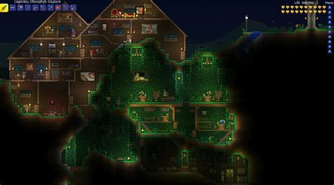 Living Wood Dresser Terraria