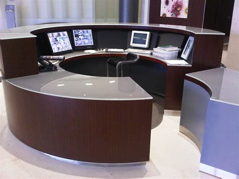 Lobby Security Desk Design