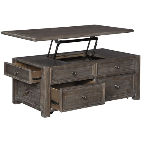 Lodge Coffee Table with Lift Top