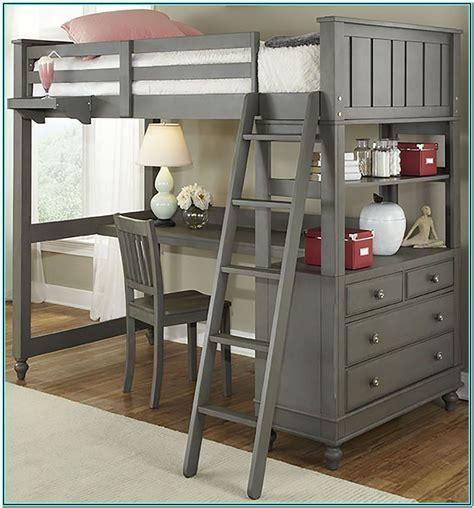 Loft Beds With Desk Plans