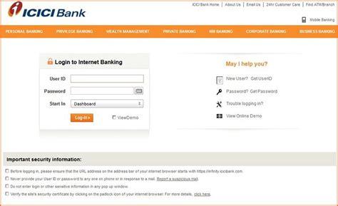 Icici Credit Card Undelivered Log In To Internet Banking Icici Bank