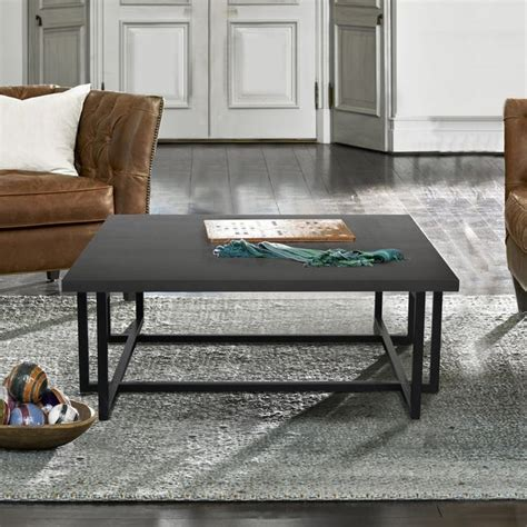 Logan Wood/Iron End Table