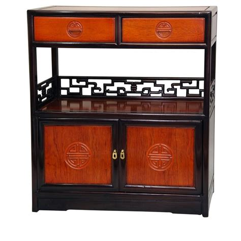 Long Life Display 2 Drawer Accent Cabinet