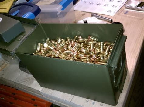 Ammunition Long Term Ammunition Storage.