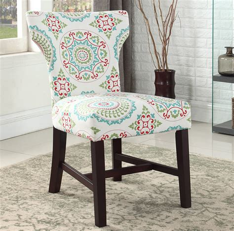 Lostant Floral Living Room Parsons Chair
