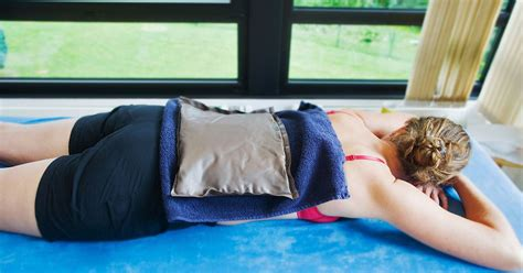lower back pain and heat treatment