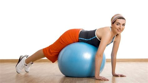 lower back pain relief exercise ball