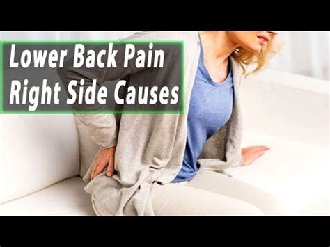 lower back pain right side only above hip
