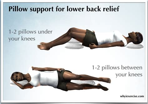 lower back pain sit or lay down