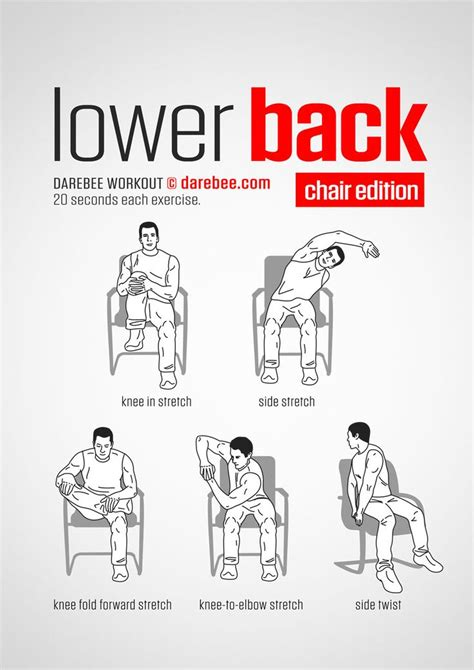 lower back pain stretches at work