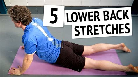 lower back stretches before running
