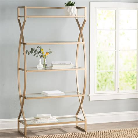 Lowery Etagere Bookcase