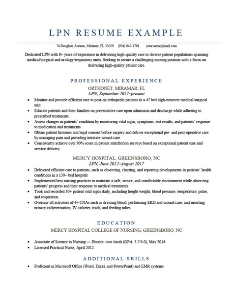 lpn resume template free entry level homemaker resume with no experience