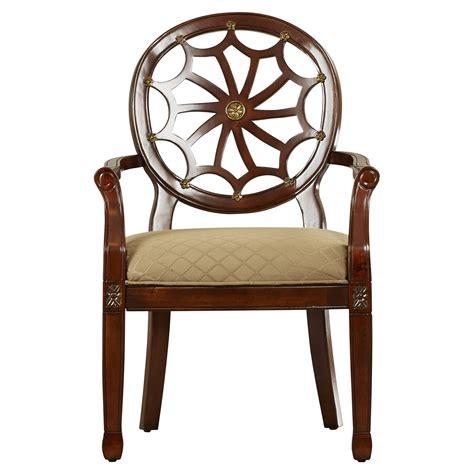 Lucinda Spider Web Fabric Armchair