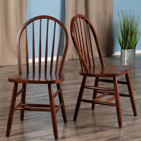Lucius Solid Wood Dining Chairs (Set of 2)