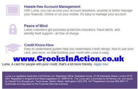 Credit Cards For Bad Credit Luma Luma Launches A New Card That Builds Your Credit Rating