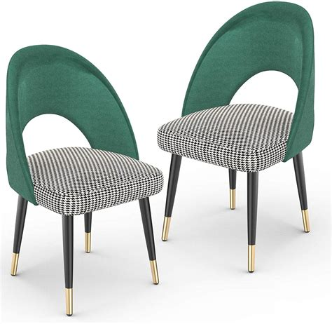 Luna Upholstered Dining Chair (Set of 2)
