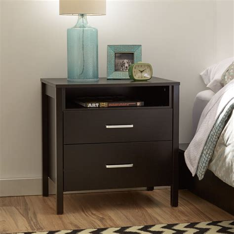 Lupe 2 Drawer Nightstand